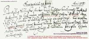 Honal_Johann_1737-06-19_V_Johann_M_Anna_Honositz_Hradec01_B47v170_Detail_n14